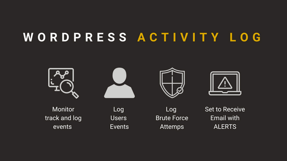 wordpress activity log